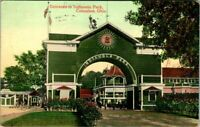 C48-2327, ENTRANCE, INDIANOLA PARK, COLUMBUS, OHIO. C1909, AMUSTMENT THEME