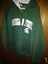 New  Michigan State Spartans Womens Genuinel Hoodie Size L  k-49TY4