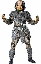 Halloween PREDATOR ADULT STANDARD Size Men Costume With Mask Haunted House NEW