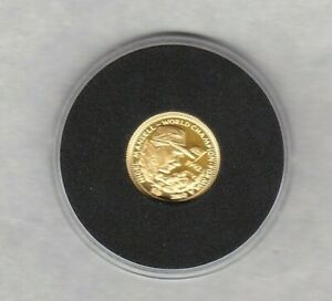 LIBERIA 1992 NIGEL MANSELL GOLD 20 DOLLARS COIN IN MINT CONDITION + CAPSULE