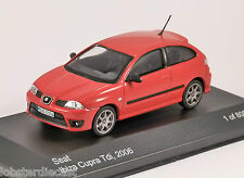 2006 SEAT IBIZA CUPRA TDi in Red 1/43 scale model by Whitebox