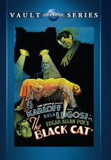 The Black Cat 1934 (DVD) Boris Karloff, Bela Lugosi, David Manners - New