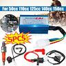 5pcs Wiring Loom Kill Switch Coil CDI Kit 50/70/110/125/140/150cc Pit Dirt