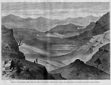 ZULU WAR ROURKES DRIFT NEAR THE SCENE OF THE RECENT CONFLICT ZULU HISTORY ZULUS