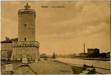 1911 Rimini - La Lanterna col Faro, veduta generale - FP B/N VG
