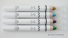 "4 NYX Jumbo Eye Pencil - Set ""N"" NEW 4 vivid colors !! *Joy's cosmetics*"