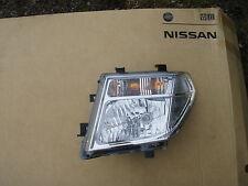 2005 - 2010 NISSAN NAVARA / PATHFINDER D40 N/S LEFT PASSENGER HEADLIGHT GENUINE