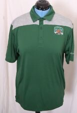 Ohio Bobcats Columbia Golf Omni-Wick Heathered Athletic Polo Shirt Men's L