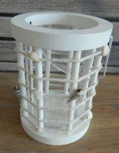 Lantern Tealight holder Hanging Freestanding Garden Rustic style / UK seller