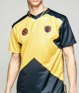 NWT Team Liquid x Marvel Comics X-Men Short Sleeve Gaming Jersey