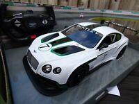 RASTAR REMOTE CONTROL RC 1:14 BENTLEY CONTINENTAL GT R Le Mans ICE WHITE Car Toy