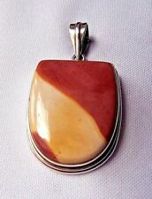 Mookaite Pendant set in Sterling Silver