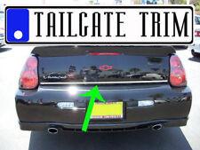 Chevy MONTE CARLO 2000-2003 04 05 06 2007 Chrome Tailgate Trunk Trim Molding