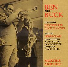 BEN WEBSTER & BUCK CLAYTON - BEN AND BUCK (1994 JAZZ CD REISSUE CANADA)