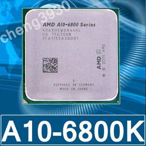 AMD A10-6800K CPU Quad-Core 4.1GHz Socket FM2 Processor