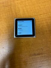 Apple iPod nano 6th Generation 8GB - Silver (MC525LL/A)