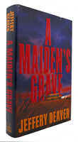 Jeffery Deaver A MAIDEN'S GRAVE  1st Edition 1st Printing