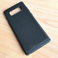 Slim Fit Samsung Galaxy Note 8 Lightweight Matte Black Case Mesh Back Cover