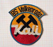BS KALI VOLKENRODA, gestickter orig. DDR Aufnäher Berufsschule 80er Jahre