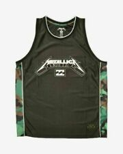 New Billabong Metallica X AI Forever limited edition jersey tank top - size L