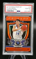 2019-20 Prizm Draft Picks TYLER HERRO Crusade #75 Orange RC PSA 10 Gem Mint 🔥🏀