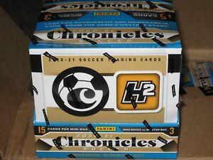 2020-21 Panini Chronicles H2 Soccer Sealed Factory Hobby Box