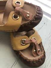 Kensie Womens (Riley) Leather Flats Size 7