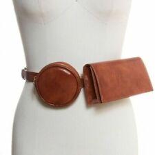 INC International Concepts multi bag 2-in-1 belt bag fanny pack -Cognac-S M L XL