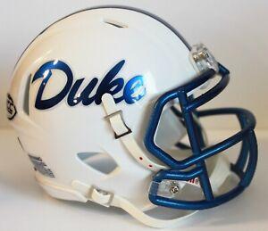2017 Duke Blue Devils Custom Riddell Mini Helmet vs NIU - Quick Lane Bowl