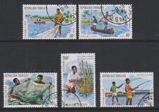 Togo - 1974, Lagoon Fishing set - F/U - SG 1008/12