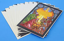 Christmas Cards By Dayspring, 10 Cards, Stained Glass, Religious, Nativity