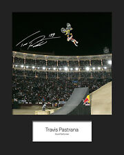 TRAVIS PASTRANA #1 Signed 10x8 Mounted Photo Print - FREE DELIVERY