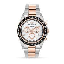Orologio Philip Watch caribe R8273607006 uomo watch cronografo BICOLORE ORO rosa