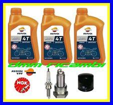 Kit Tagliando HONDA TRANSALP 700 12>13 Filtro Olio REPSOL10W40 Candele 2012 2013