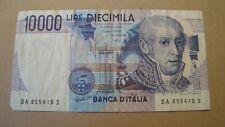 ITALY  BANKNOTE  10000 10.000 10,000  LIRE DIECIMILA