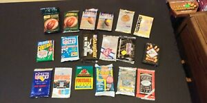 Lot of (44) 1990's NFL Football Cards Packs