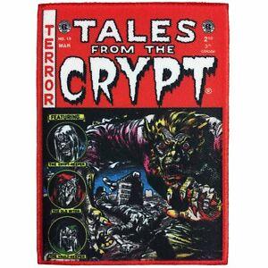 Kreepsville 666 Tales de La Crypte Bds Gothique Punk Rouge Acier Sur Patch PECCR