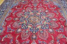 9'8 x 13 Amazing Genuine Antique Vase Design Hand Knotted Wool Area Rug 10 x 13