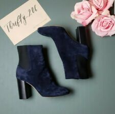 Rag & Bone Agnes Suede Boots Blue Size 40 10 NWOT