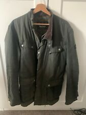 Barbour international orginal duke wax Mens jacket worn once XL Green