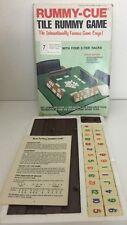 Rummy-Cue 1977 Vintage Tile Game