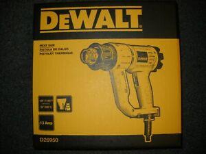 Dewalt D26950 1100 Degree Heat Gun w/ kickstand & Nozzles NEW