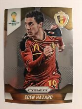 2014 PRIZM WORLD CUP SOCCER EDEN HAZARD BASE  CARD #21 Belgium