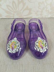 Rapunzel - Fancy Dress Light Up Shoes Disney Princess