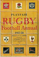 PLAYFAIR RUGBY FOOTBALL ANNUAL BOOK 1957 - 1958