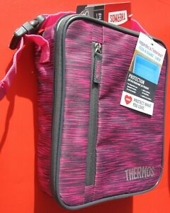 """NWT Pink Thermos Upright Insulated Lunch Box, Size: ~9.19"""" x 7.19"""" x 3.31"""", ~$17"""