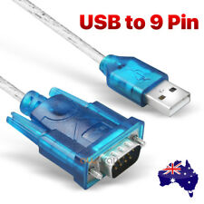 USB to 9 pin RS232 Cable COM Port Serial Adapter Converter 2.0 WIN 7/8