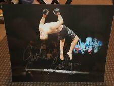 Justin Gaethje Autograph 16x20 Photo