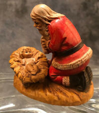 Simonetti Fontanini Kneeling Santa Baby Jesus Italy Figurine 598 Roman 1984 3�