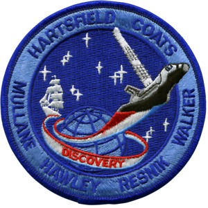 NASA Space Shuttle Discovery Mission STS-41D Embroidered Patch